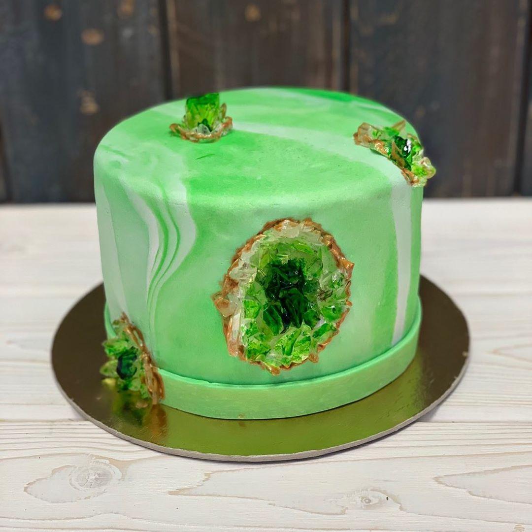 Вот этот торт принес Анастасии удачу и помог стать участницей третьего сезона «Кондитера»