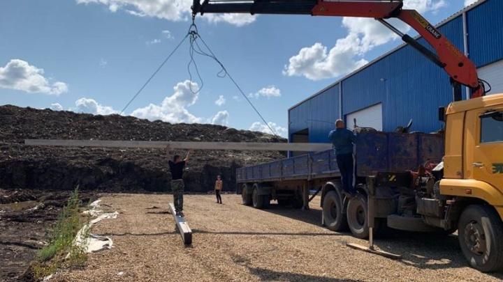 В Ярославской области отходы от строек и снесённых зданий будут дробить на специальной установке