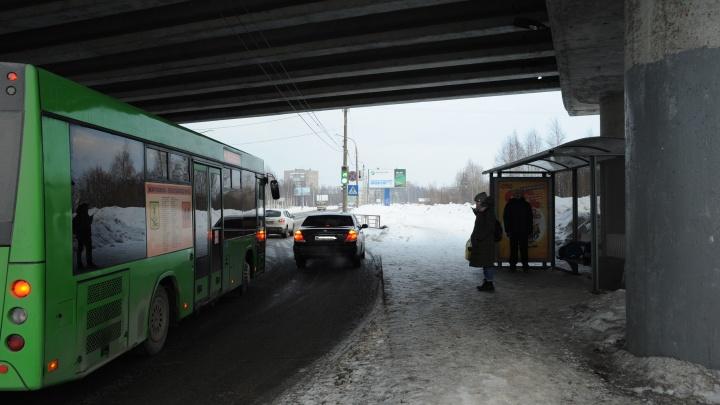 Из-за ремонта Краснофлотского моста в Архангельске перенесут автобусные остановки