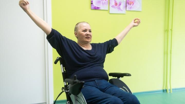 Парализованная екатеринбурженка, которая создала центр реабилитации, умерла от рака