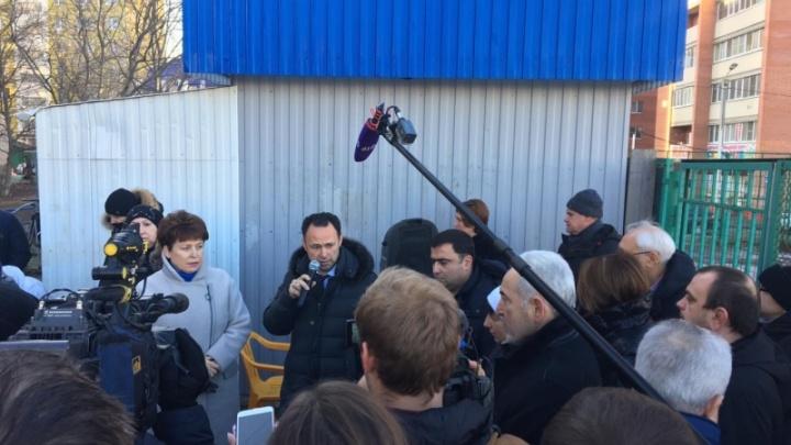В Ростове стадион на Темернике оставят до 2021 года