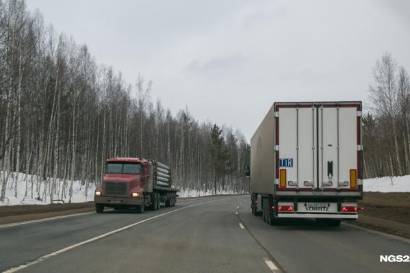 Во время Универсиады в Красноярске уже ограничивали движение грузовиков