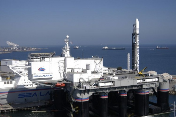 Запуски космических аппаратов на космодроме Sea Launch начались в 1999 году