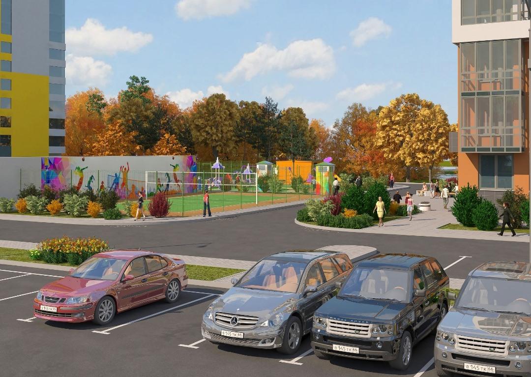 Удобно в «Исетском» будет и автомобилистам, и людям без личного транспорта