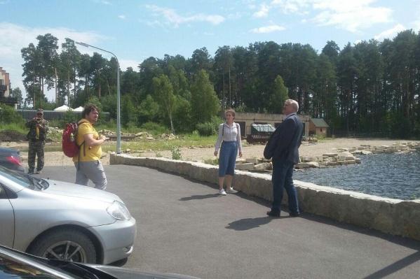 В тайном рейде на озеро Тургояк также приняли участие общественница и журналист
