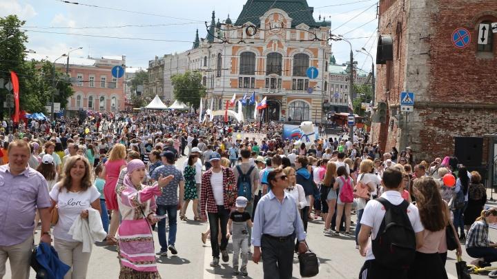 Сентябрь — нет, июнь — нет, а может, ночью? День города в Нижнем Новгороде вновь хотят перенести