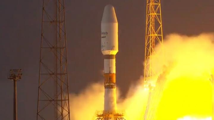 Самарская ракета «Союз» доставила на орбиту британские интернет-спутники