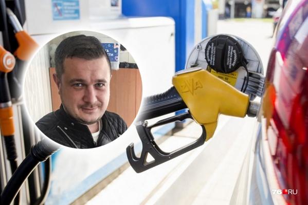 Сергей Бобылёв уже много лет владеет сетью АЗС в Ярославле
