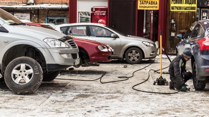 Уйдёт почти вся зарплата: Новосибирск вошёл в тройку мегаполисов с самой дорогой заменой шин на зиму