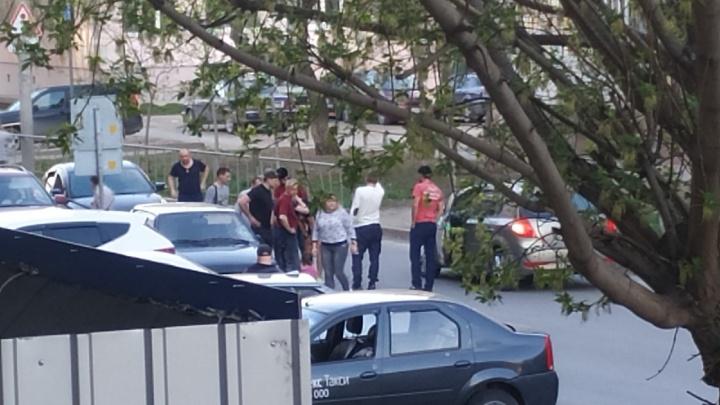 В Тюмени за один час сбили одну девочку и двух велосипедистов