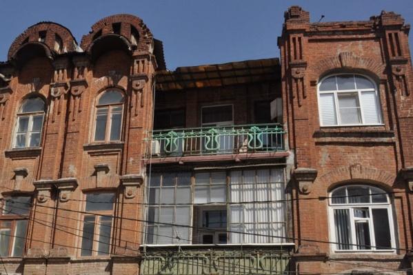 В Ростове остается всё меньше старинных зданий
