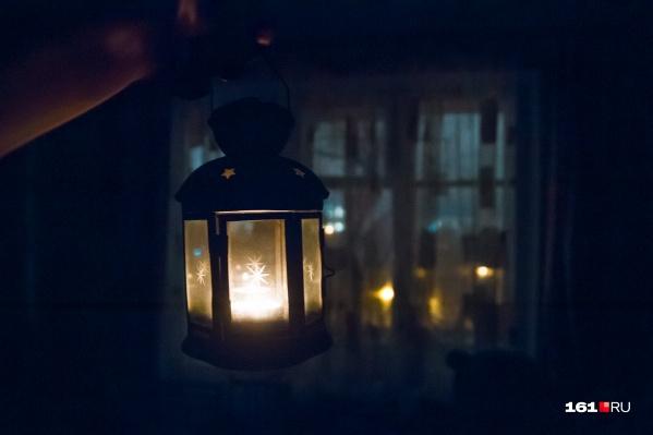 Сотни домов и тысячи человек останутся без света за неделю до Нового года