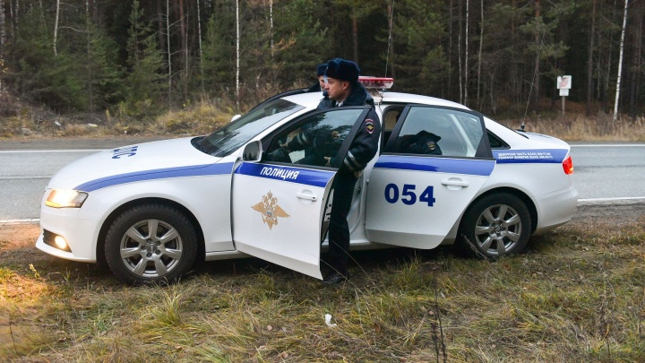 ГИБДД выехала на свердловские трассы ловить людей, которые провоцируют аварии