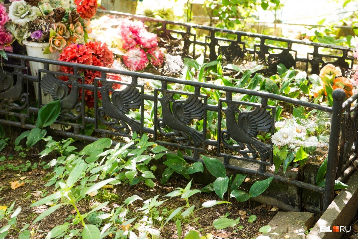 Ограда с птицами — ни одной другой похожей мы не встретили
