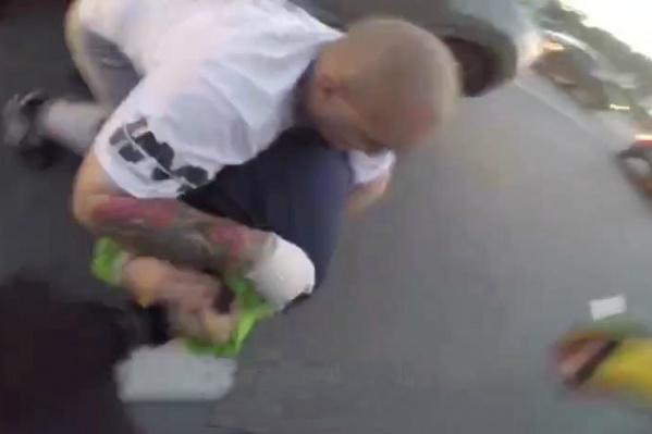 Один из участников потасовки получил сотрясение мозга