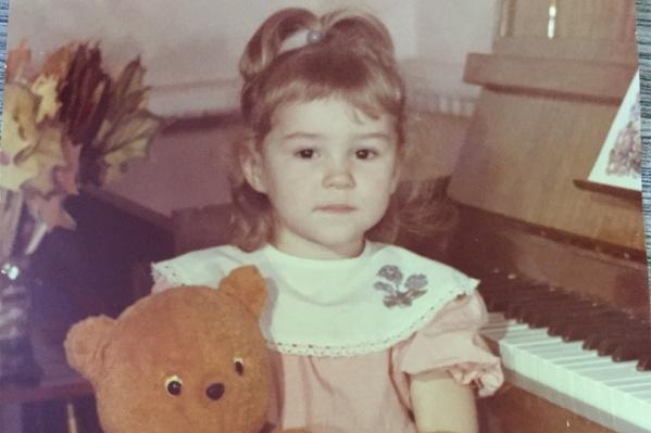 Анастасия в детстве