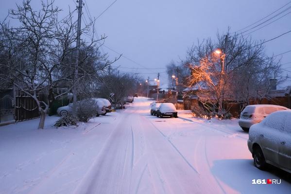 В Ростове начнутся настоящие морозы в конце декабря