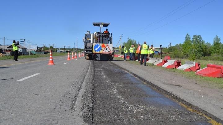 На ремонтируемых участках дорог Курганской области появится видеонаблюдение