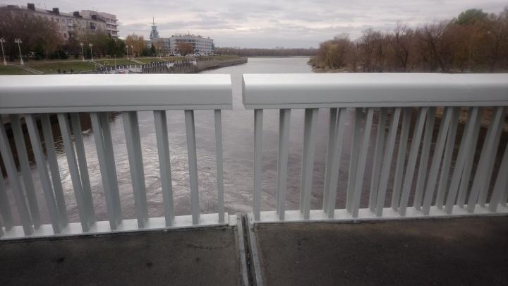 Омские власти прокомментировали появление недочётов на Юбилейном мосту