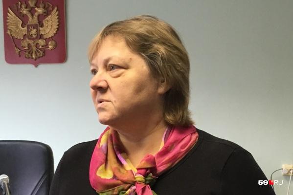 Елена Погоржальская перед оглашением приговора