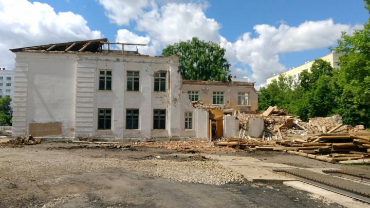 В Уфе приступили к сносу школы, в которой учился Юрий Шевчук