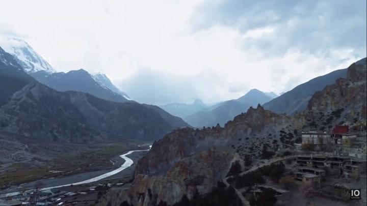 Новосибирец снял завораживающее видео в Гималайских горах
