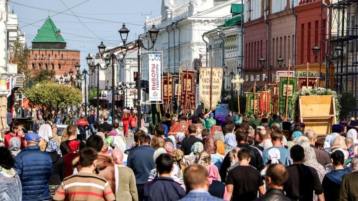 В Нижнем Новгороде перекроют ряд улиц из-за пасхального крестного хода