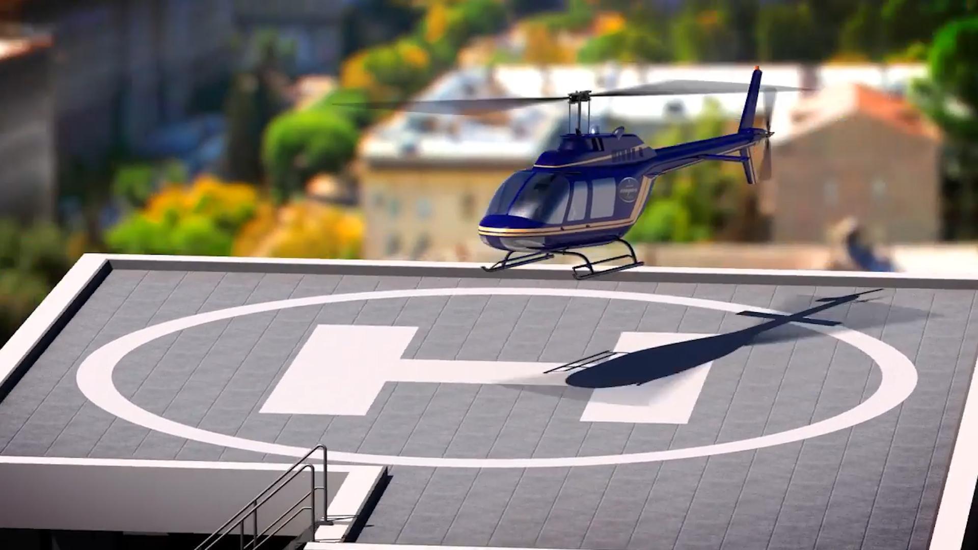 За счет вертолетной площадки застройщик хочет добавить статуса ЖК