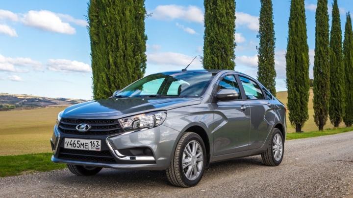 В Казахстане открыли производство Lada Granta