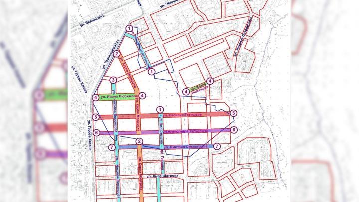 В Перми появятся семь новых улиц. Их назовут в честь знаменитых исторических деятелей