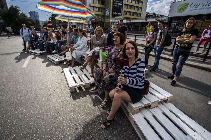 Праздник на ул. Ленина 30 июля