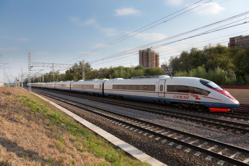 К 2024 году планировали построить 218 километров скоростной железной дороги