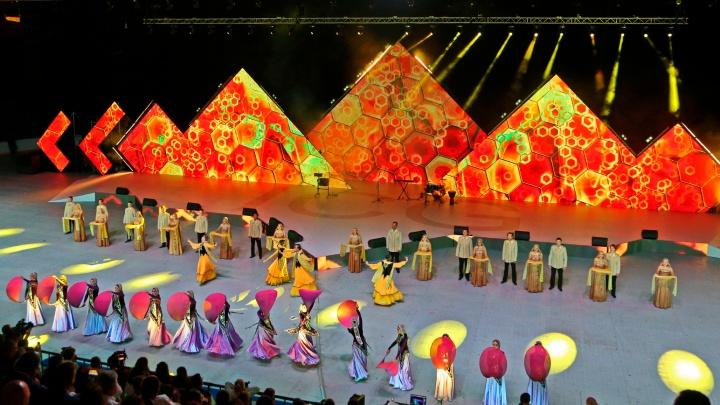 Как прошла церемония открытия 53-х Международных детских игр в Уфе: лучшие моменты