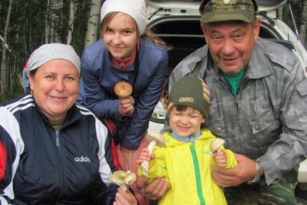 Шиловы с внуками