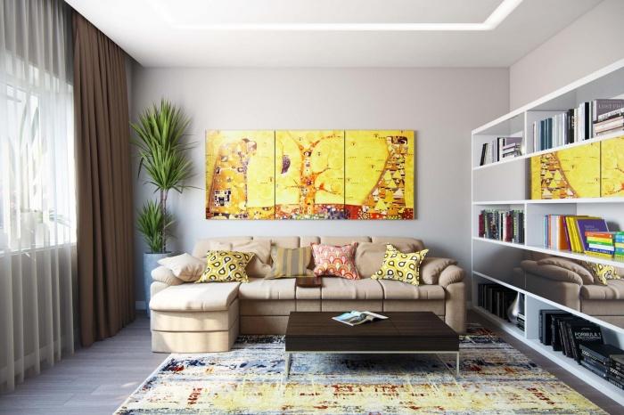 Классические картины украшают и персонализируют интерьеры домов
