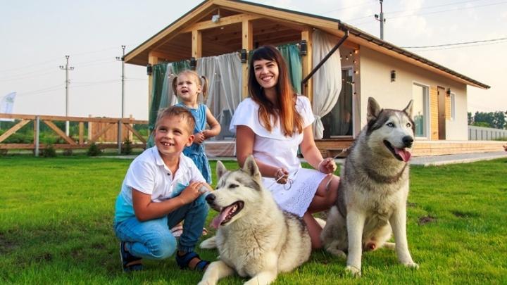 В 12 километрах от Новосибирска появится экопоселок с собственным парком и фермой