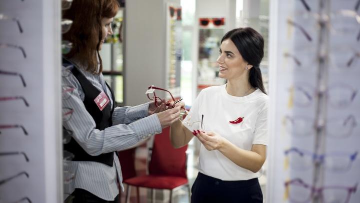 Оправа за полцены: в салонах «Оптик-Центр» стартовала предновогодняя акция «Вместе дешевле»