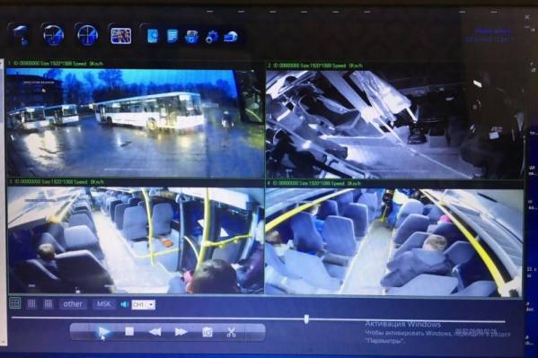 На сегодняшний день система видеонаблюдения работает в режиме эксперимента