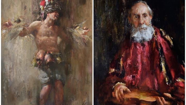 Питерский художник представит на Урале картины, за которыми коллекционеры выстраиваются в очереди