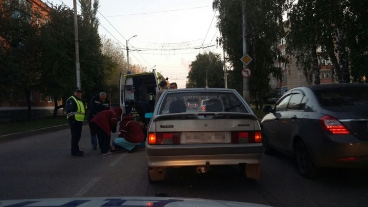 На дороге Башкирии сбили женщину