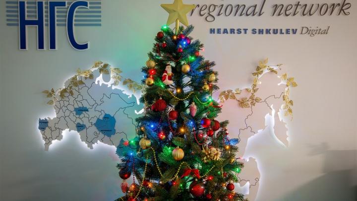 Нарядили красоту:НГС узнал, чем украсили офисы и кабинеты Новосибирска