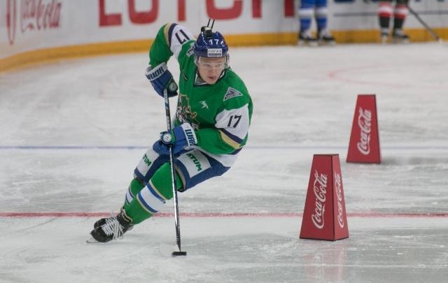 Игрок «Салавата Юлаева» назван самым перспективным молодым игроком года