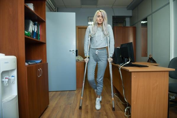 Ирина работала хореографом, теперь в профессию ей больше не вернуться