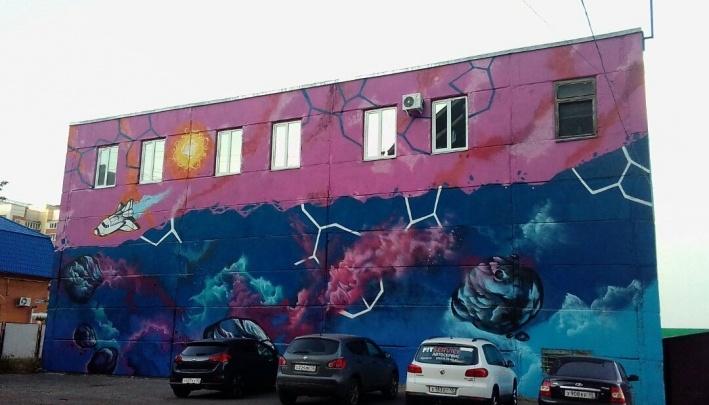 Художник из Челябинска помог сделать космический арт-объект в Кургане