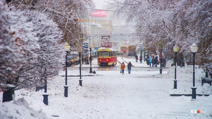 Зима подождёт: в Екатеринбурге будет тёплоеначало ноября