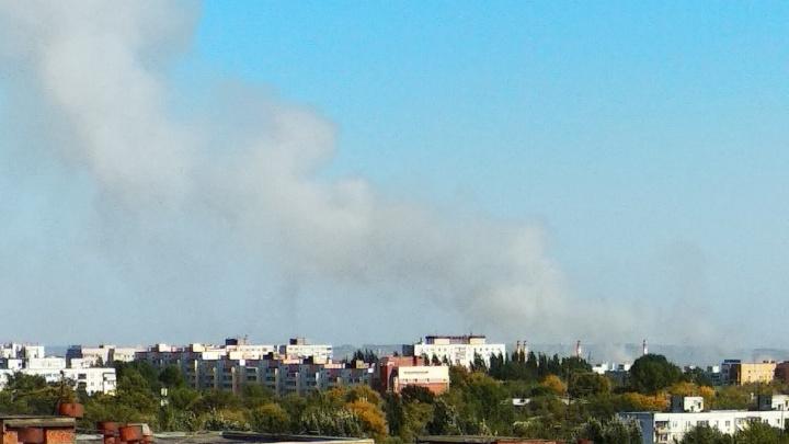«Дымит на всю Самару»: в Смышляевке горела трава на площади 1,5 га