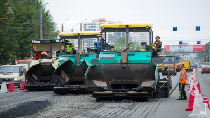 Поехали! В Челябинске начался ремонт дорог