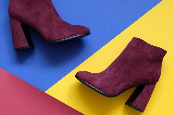 Модные ботинки 2300 рублей