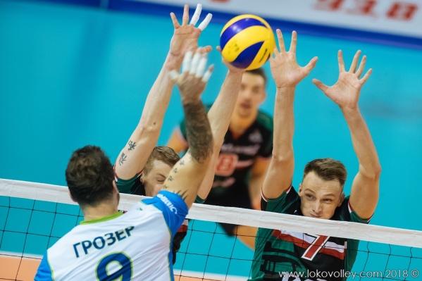 Игра проходила в Санкт-Петербурге