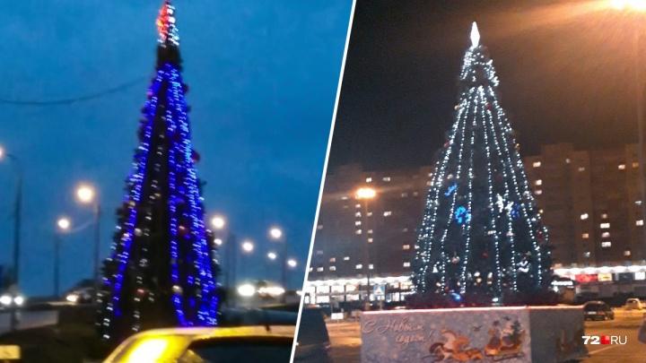 Праздник к нам приходит в октябре: в Тюмени начали ставить новогодние елки
